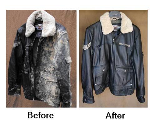 а Как Как покрасить кожаную куртку в домашних условиях